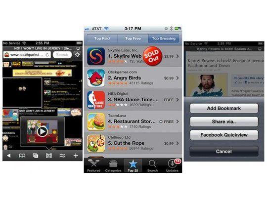 Alternativer Browser: Skyfire für iOS