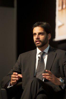 """""""Sybase hat sich bei der Suche von SAP nach einem Unternehmensparter als ideale Lösung erwiesen"""", sagt der CTO von Sybase, Irfan Khan, """"wir sind Marktführer bei mobilen Anwendungen, bei mobiler Middleware und bei mobilen Messaging-Lösungen."""""""