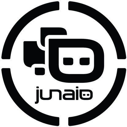 Der Juniao-Marker weist auf Bilder mit verknüpften AR-Inhalten hin.
