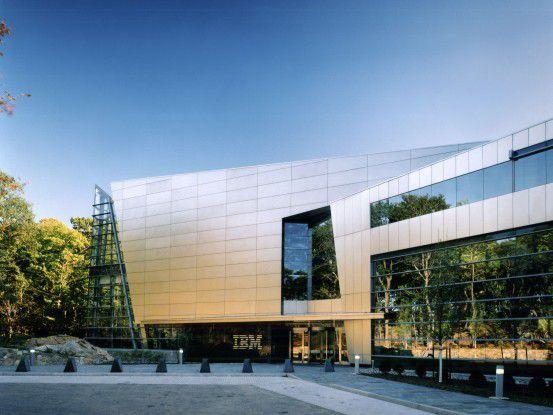 Die IBM-Zentrale in Armonk, US-Bundesstaat New York