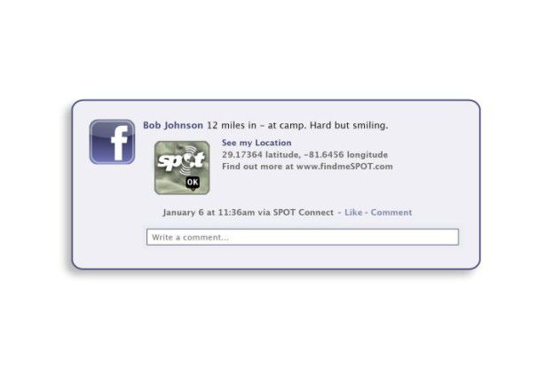 Eine Facebook-Mitteilung - und schon sind Familie und Bekannte wieder beruhigt.