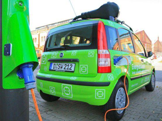Die Stadtwerke Düsseldorf setzen auf grüne Mobilität.
