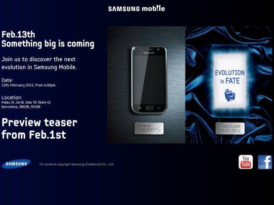 """Samsung macht's spannend: """"Evolution is Fate"""""""