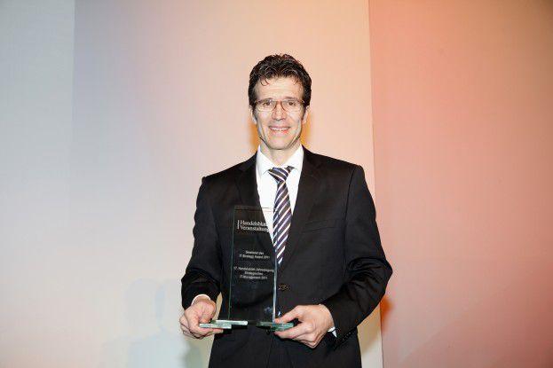 Michael Gorriz, CIO von Daimler, gewann den IT-Strategy Award 2011.