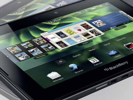 """Das """"Playbook""""-Tablet von RIM erhält noch 2011 auch LTE-Unterstützung."""