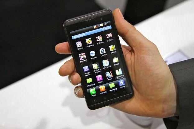 Im vergangenen Jahr überraschte LG die Besucher des MWC mit dem LG Optimus 3D.