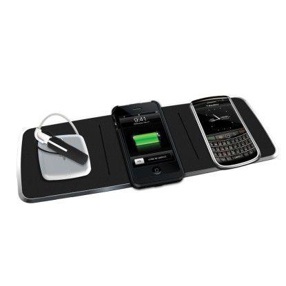 Powermat lädt Handys und Smartphones per Induktion.
