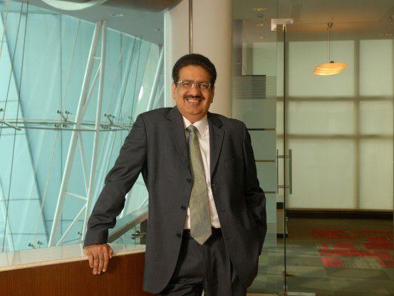 Vineet Nayar, CEO von HCL, wurde vom niedersächsischen Wirtschaftsminister mit dem LIDA-Preis für seine moderne Mitarbeiterführung ausgezeichnet.
