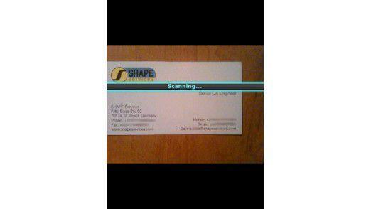 Business Card Reader Produktiver Mit Dem Blackberry 10