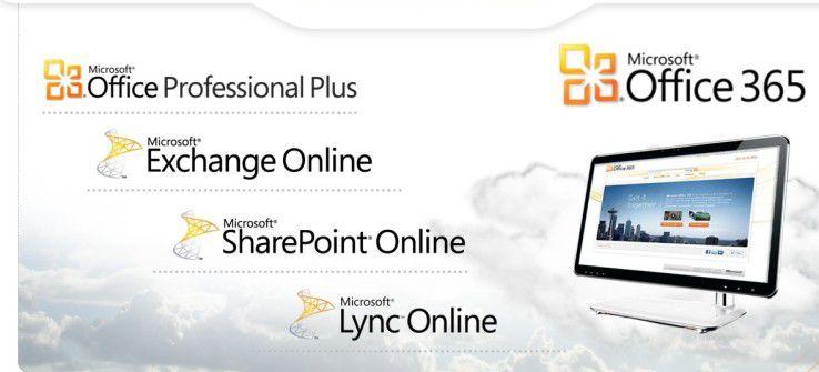 Office 365 bringt die Cloud-Versionen von Microsofts Kommunikations- und Collaboration-Produkten mit der Desktop-Suite zusammen.
