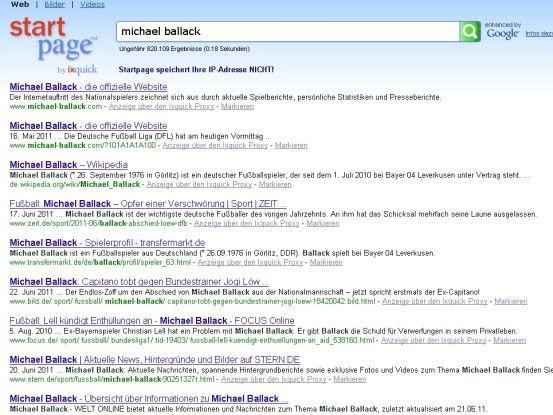 """Sicherer suchen mit Startpage - die Datenschutz-Suchmaschine ist jetzt """"enhanced by Google""""."""