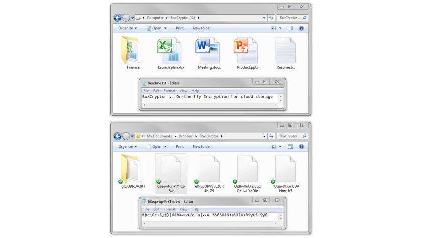 BoxCryptor: On-The-Fly-Verschlüsselung für Cloud-Speicher.
