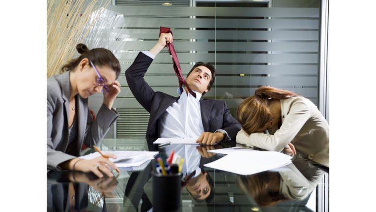 Viele Meetings sind nicht gerade ein Quell der Freude.