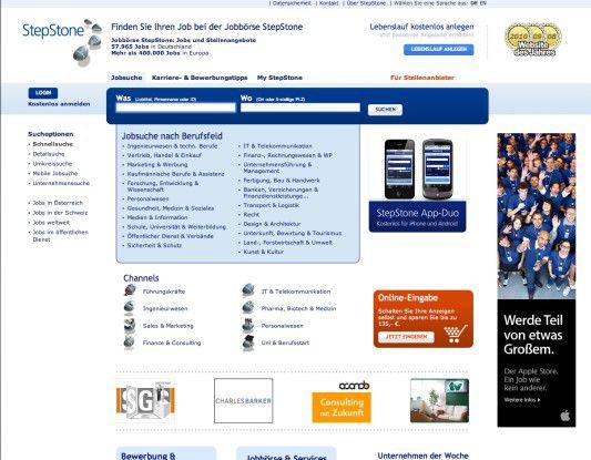 Bewerbung Stepstone Bleibt Beliebteste Jobbörse Computerwochede
