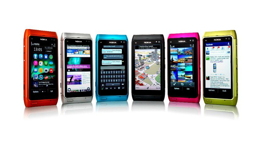 Das (noch) aktuelle Consumer-Flaggschiff Nokia N8
