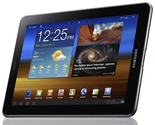 Könnte es Apple gefährlich werden? Das Samsung Galaxy Tab 7.7