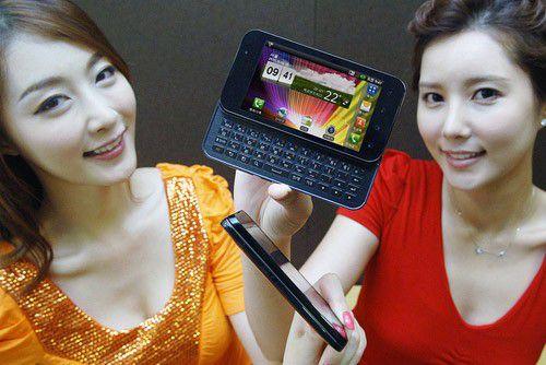 "LGs Dual-Core-Smartphone ""Optimus Q2"" läuft mit Android."