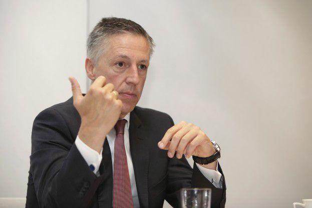 """""""Es geht ja nicht darum, einfach eine Maßnahme zu ergreifen."""" Volker Smid, HP-Deutschland-Chef"""