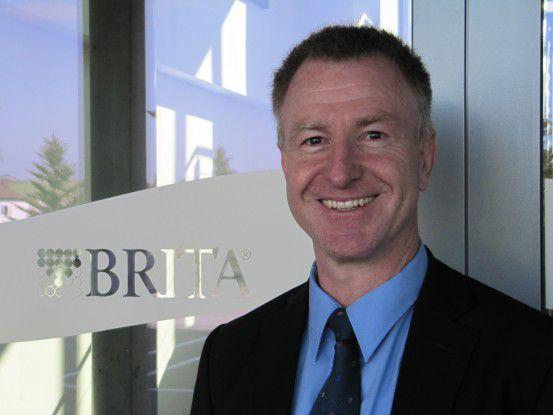 Frank Nittka, Leiter IT und Organisationsberatung International, Brita GmbH