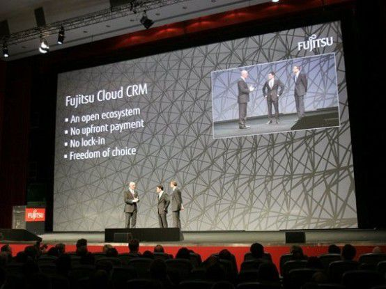 Die Cloud-CRM-Lösung von Fujitsu soll Anschubhilfe für den SaaS-Store liefern, indem sie ISVs als Beispiel dient.
