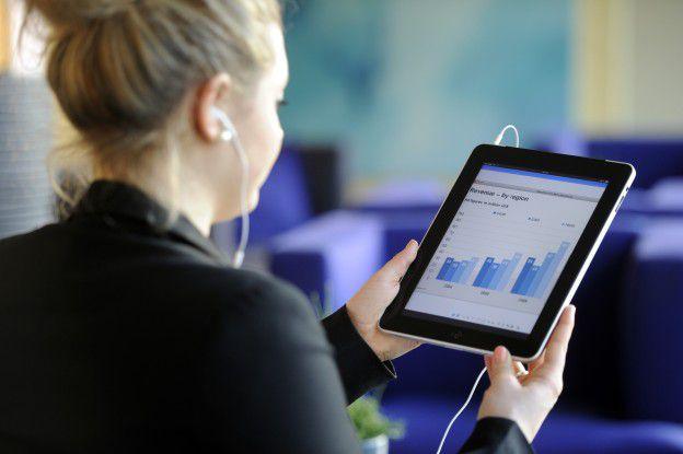 Die Zahl der Mitarbeiter mit mobilen Endgeräten steigt kontinuierlich an.