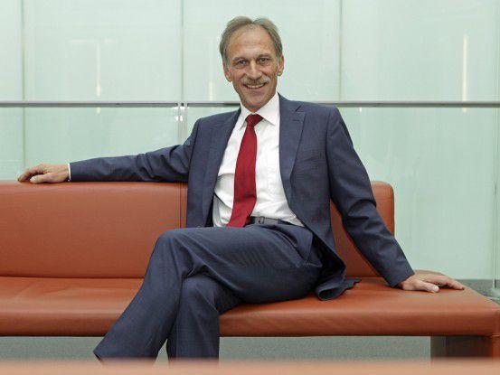 Heinz Laber, Mitglied des Vorstands (COO) der HypoVereinsbank - UniCredit Bank AG.