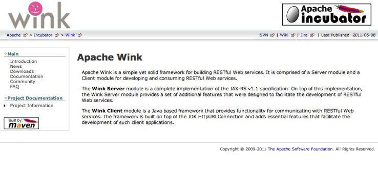 Einfache Implementierung von Web-Services im Rest-Style - Apache Wink.