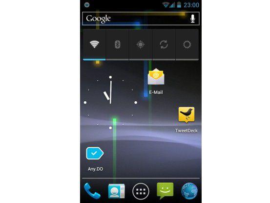 Das Update auf Android 4.0 bringt neuen Glanz für das Nexus S