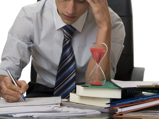 Stress und Zeitdruck sind Zeichen der modernen Arbeitswelt.