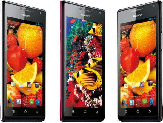 Ab Juli im Handel: Das Huawei Ascend P1