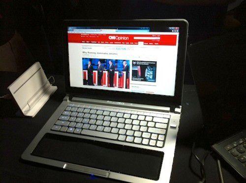 Intel-Prototyp Nikiski im Normalzustand