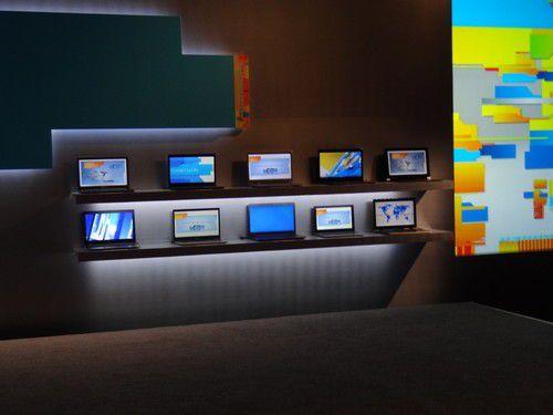 Das Ultrabook-Aufgebot auf der Intel-Pressekonferenz
