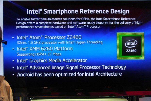 Können die Medfield-Smartphones die von Prototypen geweckten Erwartungen erfüllen?