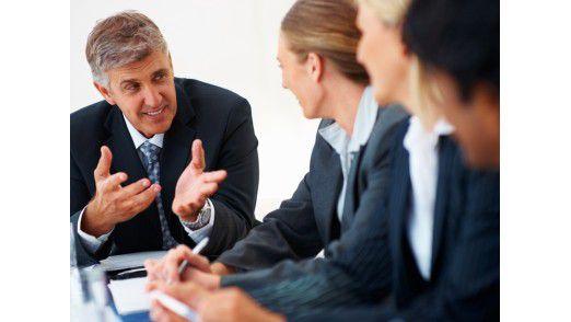 Aussprache mit Kollegen oder Coaches tut auch Entscheidern gut.
