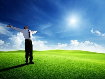 Schön Wetter bei Unternehmensgründungen: Cloud Computing macht's möglich.