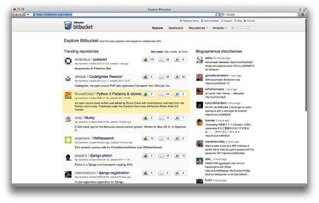 Code-Hosting mit Bitbucket.