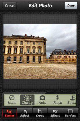 Camera+ bietet zahlreiche Funktionen für perfekte Bilder.