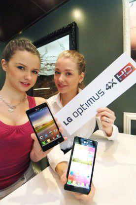 Als Software verwendet LG Android 4.0 plus die eigene Benutzeroberfläche Optimus UI.