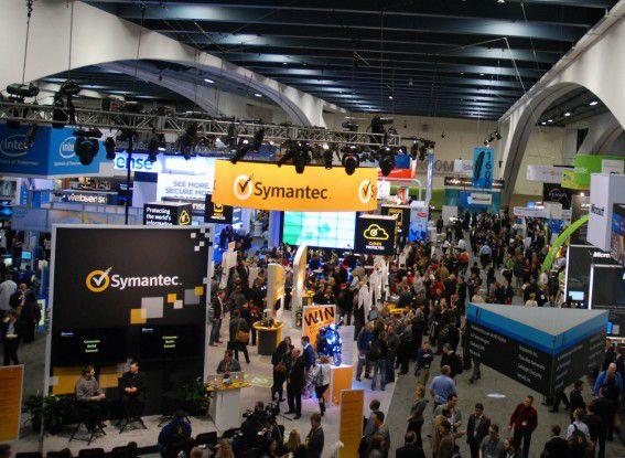 Neben RSA und Symantec stellten auch andere Security-Unternehmen auf der RSA Conference in San Francisco aus.