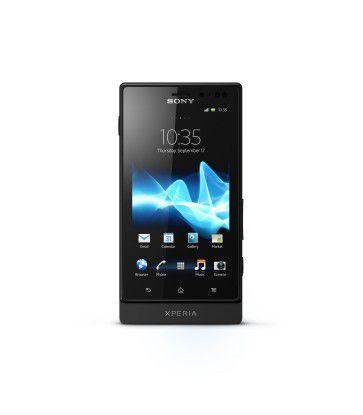 Das Sony Xperia Sola von vorne...