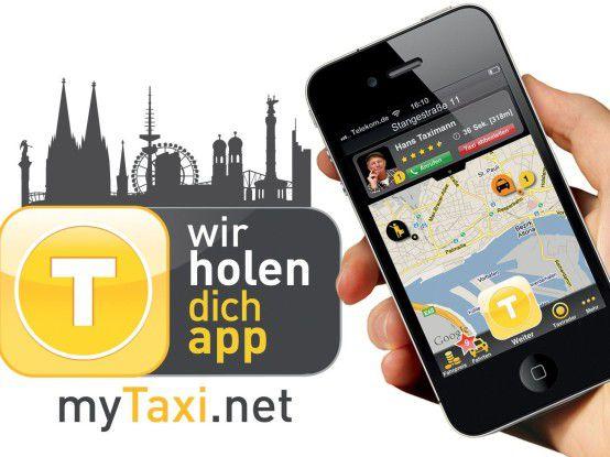 """Den Innovationswettbewerb Code_n gewann 2012 das Unternehmen Intelligent Apps aus Hamburg mit """"myTaxi""""."""