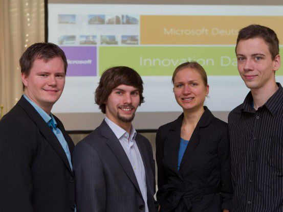 Das Gründerteam von majiSolutions gewann 2011 den Microsoft Imagine Cup.