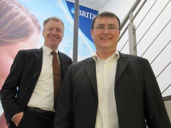 Frank Nittka, CIO des Wasserfilter-Herstellers Brita, und Dirk Fischer, Director International IT Infrastructure.