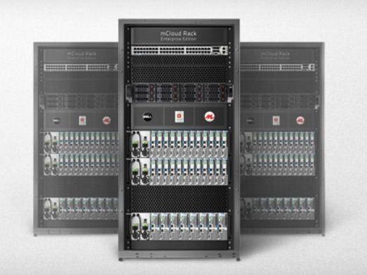 "Die Cloud in einer Box: Morphlabs ""mCloud Rack Enterprise"" nutzt das neue Openstack-Betriebssystem Essex."