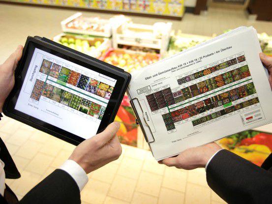 Auch wenn bei vielen Unternehmen (hier Lidl) primär iPads im Einsatz sind - es gibt Alternativen.
