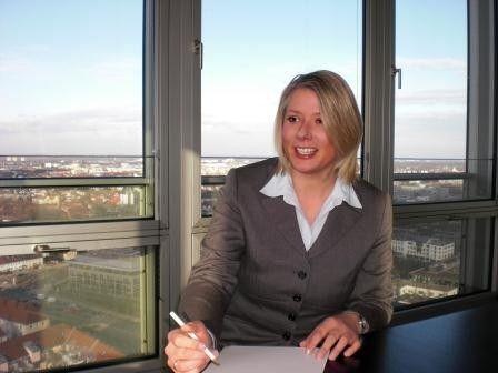 Martha Heckl ist IT-Projekt-Managerin der Munich Re und leitet eines der wichtigsten Projekte der Rückversicherung.