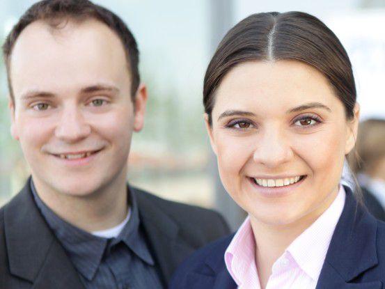 Das Team hinter Gymzap: Andy Wunderlich und Radostina Ruseva entwickelten eine Web-basierende Lösung, die Fitnesskurse nach Hause bringt.