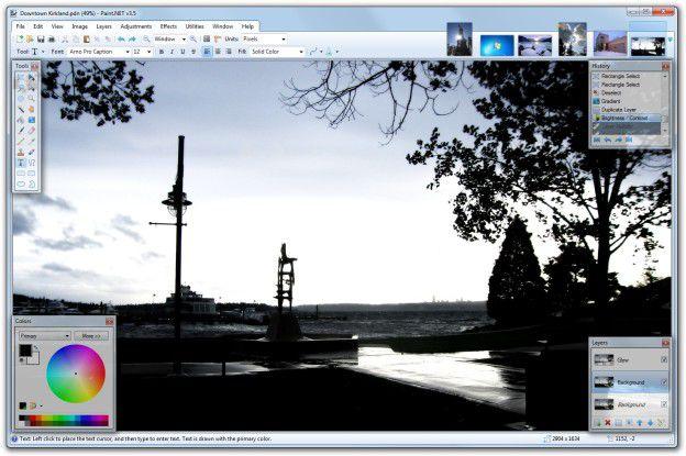 Fotos bearbeiten mit Paint.NET.