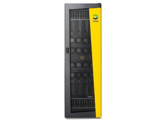 Die Storage-Lösung 3PAR P10000 von HP ist in erster Linie für virtualisierte Umgebungen gedacht.