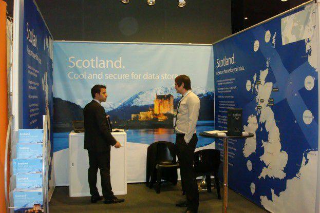 Auch Schottland sieht sich dank des günstigen kühlen Klimas als vorteilhafter Rechenzentrumsstandort.